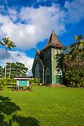 Waioli Huiia Church, Hanalei, Kauai, Hawaii USA