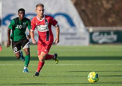 Anders Holst (FC Helsingør) under træningskampen mellem FC Helsingør og Næstved Boldklub den 19. august 2020 på Helsingør Stadion (Foto: Claus Birch).