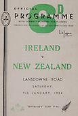 Rugby 1954-09/01 Tour Match Ireland Vs New Zealand