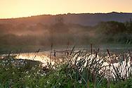 Sunrise at the Arcata Marsh, Arcata, Humboldt County, CALIFORNIA
