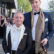 NLD/Hilversum/20180422 - Ontvangst gasten 27ste Coiffure Award Gala, Ronald Kolk en ..........