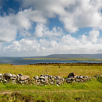 Orkney Islands , Scotland - area around Scapa Flow  - villages and countryside showing the spendour and wildness of  the Islands.