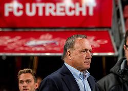 27-09-2018 NED: FC Utrecht - MVV Maastricht, Utrecht<br /> Coach Dick Advocaat of Utrecht