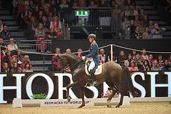 Van Silfhout Diederik, (NED), Bonzanjo<br /> Grand Prix Freestyle <br /> Reem Acra FEI World Cup Dressage <br /> London International Horse Show<br /> © Hippo Foto - Jon Stroud