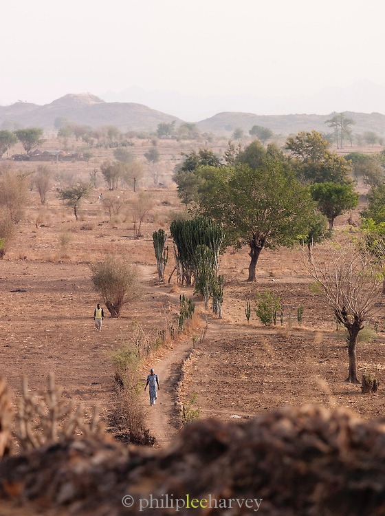 Near Rhumsiki, in the north of Cameroon