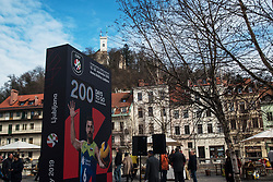 200 days Count down ceremony to CEV Euro Volley 2019 in Ljubljana, Slovenia.