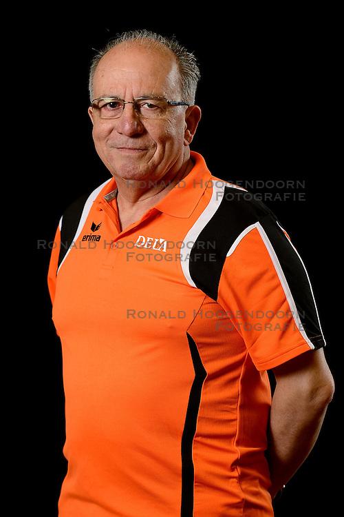 25-04-2013 VOLLEYBAL: NEDERLANDS MANNEN VOLLEYBALTEAM: ROTTERDAM<br /> Selectie Oranje mannen seizoen 2013-2014 / Manager Jan Koehorst<br /> ©2013-FotoHoogendoorn.nl