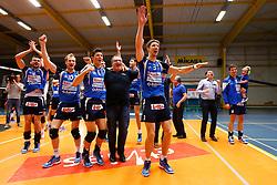 20150501 BEL: Volley Behappy2 Asse-Lennik - Knack Roeselare, Zellik<br />Joppe Paulides (3) of Knack Volley Roeselare, <br />©2014-FotoHoogendoorn.nl / Pim Waslander