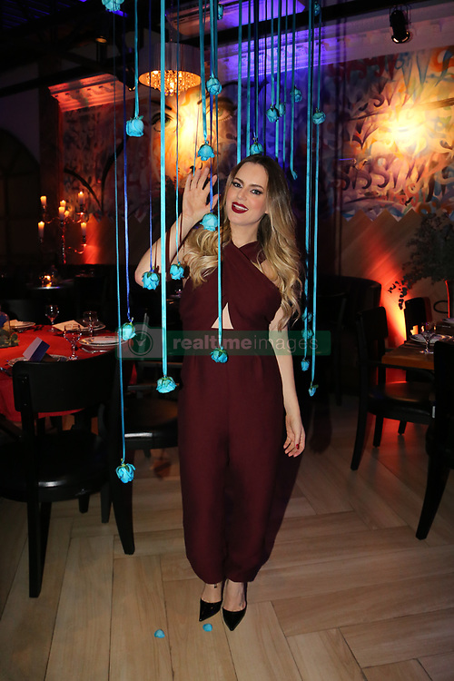 July 5, 2018 - Brazil - A winter ball was realized at Hannover fondue restaurant to celebrate the beginning of the season and with the presence of famous Brazilian people at the restaurant in Tatuape. (Credit Image: © Leco Viana/Pacific Press via ZUMA Wire)