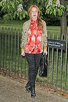 LONDON - JUNE 26: Josephine de La Baume attended the Serpentine Gallery summer party, Kensington Gardens, London, UK. June 26, 2012. (Photo by Richard Goldschmidt)
