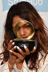 M.I.A pictured with the Innovation in Sound award at the Q Awards, at the Roundhouse in Camden, London. Picture date: Tuesday November 2, 2016. Photo credit should read: Matt Crossick/ EMPICS Entertainment.