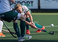 ROTTERDAM -  Menno Boeren (Rotterdam)  tijdens de competitie hoofdklasse hockeywedstrijd mannen,  Rotterdam-Bloemendaal (1-2).  COPYRIGHT  KOEN SUYK