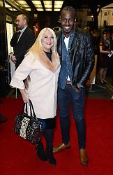 Vanessa Feltz and Ben Ofoedu arriving at the UK Premiere of Mum's List, Curzon Cinema, London.<br /> Photo credit should read: Doug Peters/EMPICS Entertainment