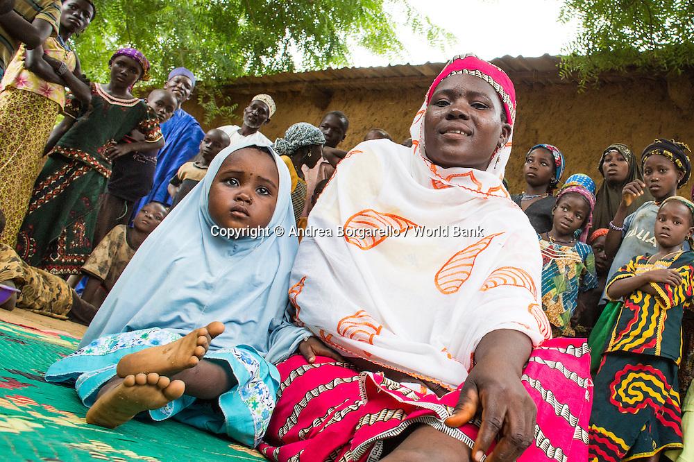 Niger, Dosso Province, Filets Sociaux