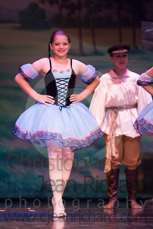 """Students of the Payne Academy of Performing Arts in the dress rehearsal of """"Peter and the Wolf""""...Woodlands College Park High School Theater.The Woodlands, Texas"""