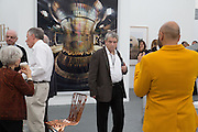 NORMAN ROSENTHAL, The VIP preview of Frieze. Regent's Park. London. 16 October 2013