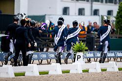 Team Netherlands, Van SIlfhout Alex, Van Baalen Marlies, Van Liere Dinja, Gal Edward, Minderhoud Hans Peter<br /> CHIO Rotterdam 2021<br /> © Hippo Foto - Dirk Caremans<br />  03/07/2021
