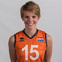 07-06-2016 NED: Jeugd Oranje meisjes <2000, Arnhem<br /> Photoshoot met de meisjes uit jeugd Oranje die na 1 januari 2000 geboren zijn / Wies van Solkema