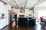 """2015 March 12 - Photos of the Carle home for a story in Omaha Magazine's """"At Home With"""" section."""