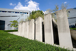 Exterior of Jewish Museum in Kreuzberg Berlin Germany; architect Daniel Libeskind