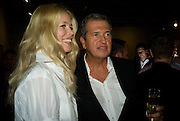 CLAUDIA SCHIFFER AND MARIO TESTINO, Mario Testino: Obsessed by You -  private view<br />