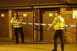 © Licensed to London News Pictures. 06/03/2018. Salisbury, UK. Police seal off the back of The Mill pub and hotel as a cordon is extended around the area where former Russian spy Sergei Skripal and his daughter were taken after becoming ill with suspected poisoning. The couple where found unconscious on bench in Salisbury shopping centre. Specialist units have been called in to deal with any possible contamination. Photo credit: Peter Macdiarmid/LNP