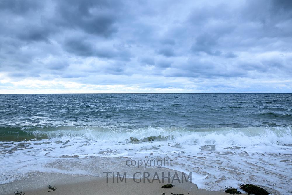 Overlooking Nantucket Sound, Atlantic Ocean, at Harding Shores, Cape Cod, New England, USA