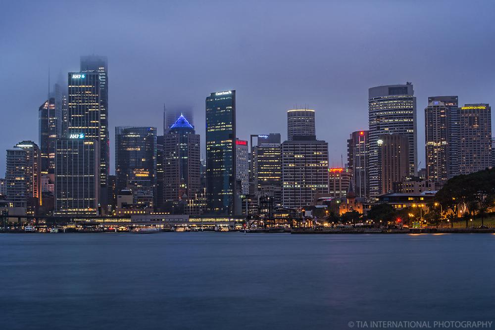 Sydney Skyline & Port Jackson