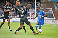 Peterborough United midfielder Siriki Dembele (10) during the EFL Sky Bet League 1 match between Peterborough United and Portsmouth at London Road, Peterborough, England on 15 September 2018.