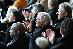 Ron Atkinson during the memorial service for Cyrille Regis at The Hawthorns, West Bromwich.