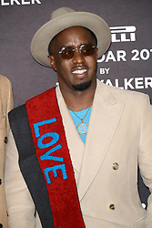 November 10, 2017 - New York City, New York, USA - 11/10/17.Sean Diddy Combs at a photocall for the 2018 Pirelli Calendar by Tim Walker in New York City. (Credit Image: © Starmax/Newscom via ZUMA Press)