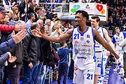 Dyshawn Pierre<br /> Banco di Sardegna Dinamo Sassari - Dolomiti Energia Aquila Trento<br /> LBA Serie A Postemobile 2018-2019<br /> Sassari, 24/03/2019<br /> Foto L.Canu / Ciamillo-Castoria