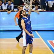 Anadolu Efes's Stratos Perperoglou during their Turkish Airlines Euroleague Basketball Group A Round 5 match Anadolu Efes between Real Madrid at Abdi ipekci arena in Istanbul, Turkey, Thursday, November 14, 2014. Photo by Aykut AKICI/TURKPIX