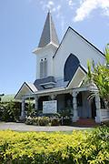 South Pacific, Samoa, Upolu Island Apia Protestant Church