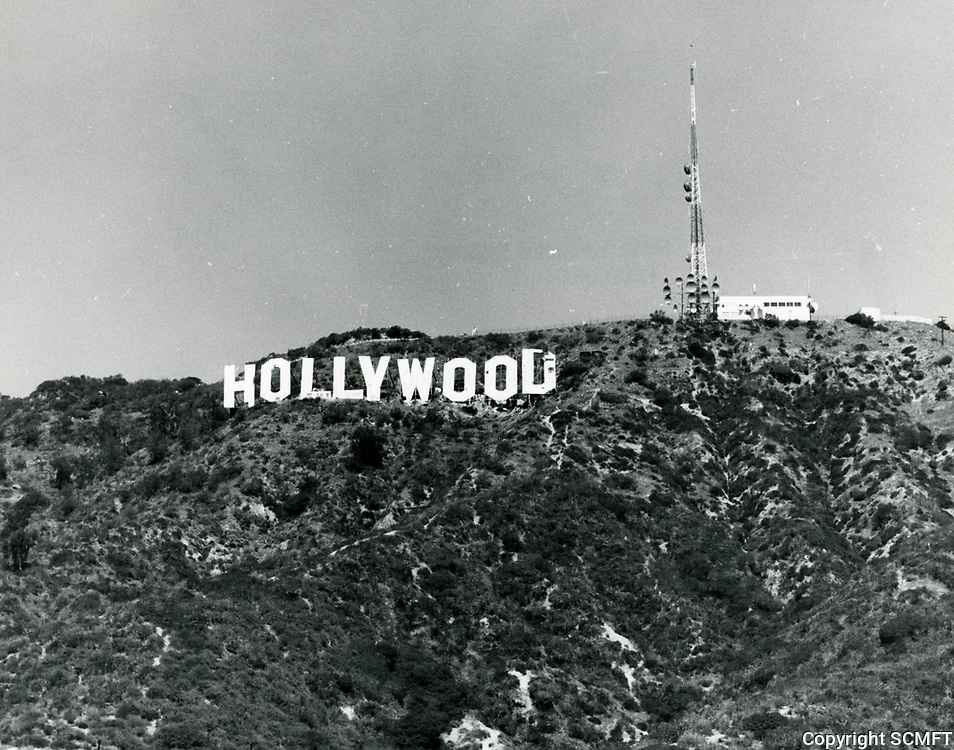 1977 Hollywood sign