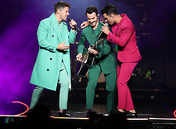 The Jonas Brothers perform at the Amway Center in Orlando, FL, USA, on Friday, August 9, 2019. Photo by Stephen M. Dowell/Orlando Sentinel/TNS/ABACAPRESS.COM