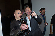 DAVID FALCONER; MAT COLLISHAW, Opening for Nick Waplington's Alexander McQueen photography exhibition and Christina Mackie's Tate Britain Commission. Tate Britain. London. 23 March 2015