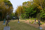 The sculpture garden of the Kasama Nichido Museum of Art, Kasama city, Ibaraki, Japan, May 10, 2013.