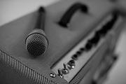 Belo Horizonte_MG, Brasil...Detalhe do amplificador de som...An audio amplifier of Danilo Franca singer...Foto: LEO DRUMOND / NITRO