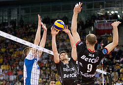 02-05-2010 VOLLEYBAL: FINAL 4 CHAMPIONS LEAGUE: LODZ<br />  Dinamo Moscow (RUS) vs Trentino BetClic (ITA), im Bild Lukasz Zygadlo of Trentino at  final match. <br /> ©2010- FRH nph / Vid Ponikvar