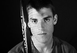 """14 April 2007: James Mc Gee, tennis player for the North Carolina State Wolfpack. ..Born 6/10/1987; Age 19 when photos were taken. 6'0"""" and 176 lbs.  Photo taken his freshmen year.  From Dublin, Ireland and attended Belvedere College S.J.."""