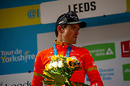 Greg Van Avermaet of CCC Pro Team on podium fo 2nd during stage four of the Tour de Yorkshire from Halifax to Leeds, , United Kingdom on 4 May 2019.