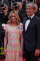 Actress and Singer Vanessa Paradis and Actor Mads Mikkelsen at the gala screening for Woody Allen's film Café Society at the 69th Cannes Film Festival, Wednesday 11th May 2016, Cannes, France. Photography: Doreen Kennedy
