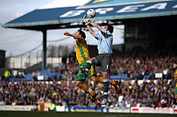 Photo: Rich Eaton.<br /> <br /> Cardiff City v Norwich City. Coca Cola Championship. 10/03/2007. Cardiff goalkeeper Neil Alexander gets to the ball ahead of Chris Martin of Norwich