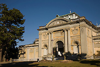 Nara National Museum is one of the preeminent national art museums in Japan.  The museum is noted for its collection of Buddhist art, which includes images, sculpture and altar articles. The museum displays works of art belonging to temples and shrines in the Nara area.