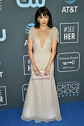 Constance Wu attends the 24th annual Critics' Choice Awards at Barker Hangar on January 13, 2019 in Santa Monica, CA, USA. Lionel Hahn/ABACAPRESS.COM