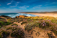 Sea shore of Vicentina Natural Park in Portugal
