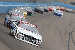 March 10, 2018 - Avondale, Arizona, United States of America - March 10, 2018 - Avondale, Arizona, USA: Kaz Grala (24) brings his race car down the front stretch during the DC Solar 200 at ISM Raceway in Avondale, Arizona. (Credit Image: © Chris Owens Asp Inc/ASP via ZUMA Wire)