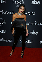 Elizabeth Smith at MAXIM Magazine's Official Release of their Sept./Oct. Issue Hosted by Cover Model Vita Sidorkina held at Nightingale on September 28, 2019 in Los Angeles, California, United States (Photo by © VipEventPhotography.com