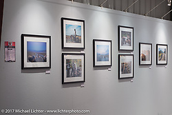 Photography by Josh Kurpius on display at the Old Iron - Young Blood exhibition in the Motorcycles as Art gallery at the Buffalo Chip during the annual Sturgis Black Hills Motorcycle Rally. Sturgis, SD. USA. Tuesday August 8, 2017. Photography ©2017 Michael Lichter.